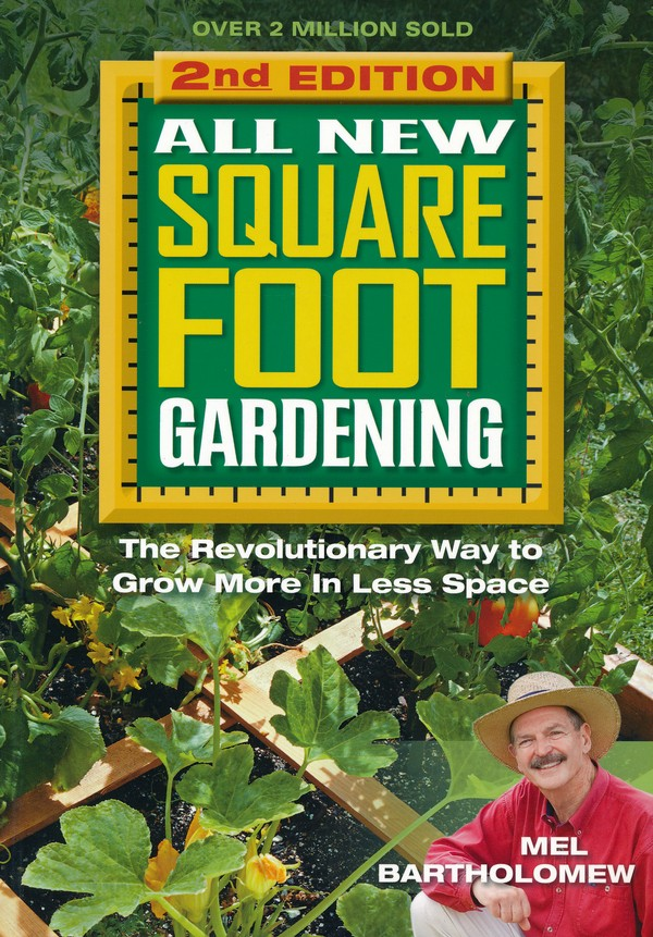 Book Cover All New Square Foot Gardening.